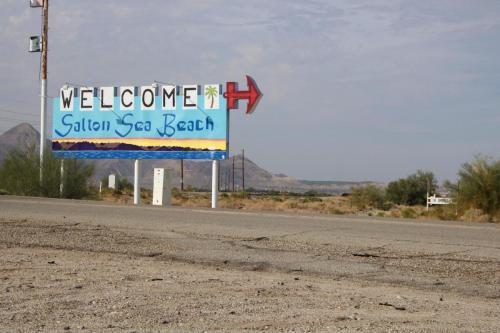 Salton Sea Sign