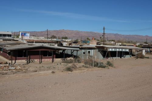 Abandoned houses of Bombay Beach